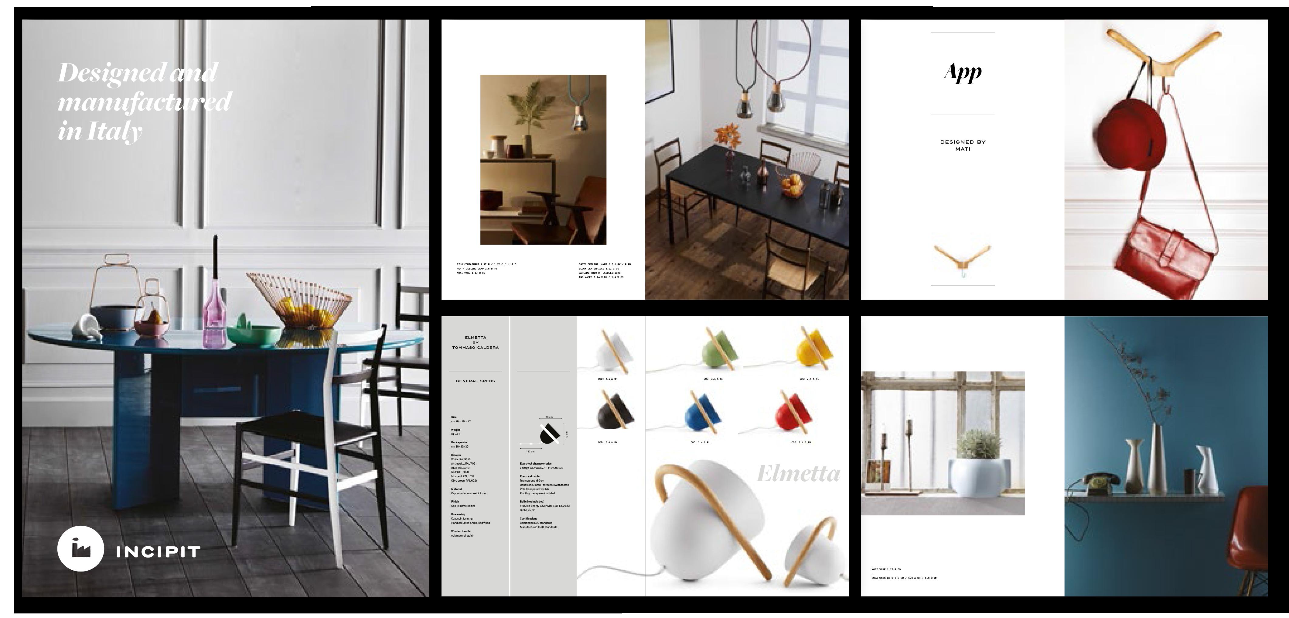 inicipit catalogue art direction by studio lido laboratore innocenti design office