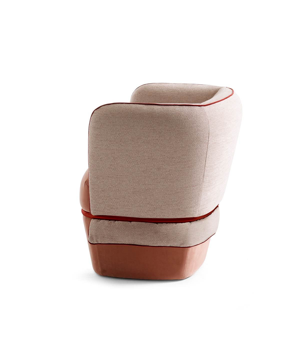 chemise armchair design by studio lido for my home collection - laboratore innocenti design office